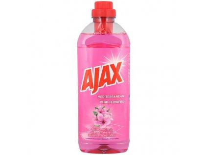 Ajax univerzální Čistič na podlahy s vůní středomořských růžových květů 1l