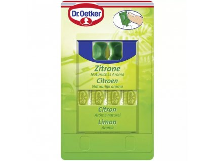 Dr. Oetker Aroma Citrón 4ks, 4x2ml