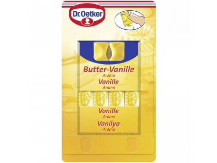 Dr. Oetker Aroma Máslo - Vanilka 4ks, 4x2ml