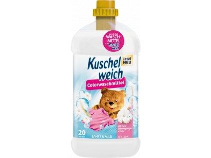 Kuschelweich prací gel na barevné prádlo Sanft & Mild, 20 dávek, 1,32l