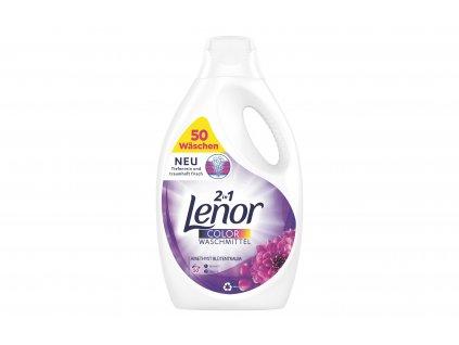 Lenor prací gel na barevné prádlo Amethyst Blutentraum, 50 dávek, 2,75l