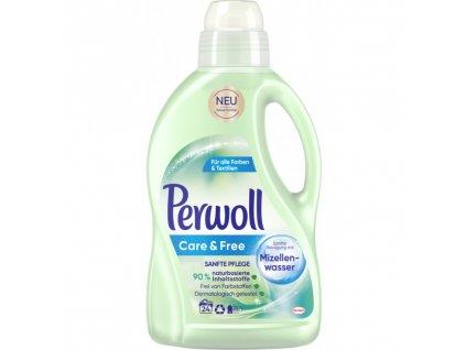 Perwoll Care & Free prací gel pro syntetiku 24 dávek, 1,44l