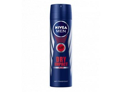 Nivea Men Dry Impact deospray 150 ml  - originál z Německa