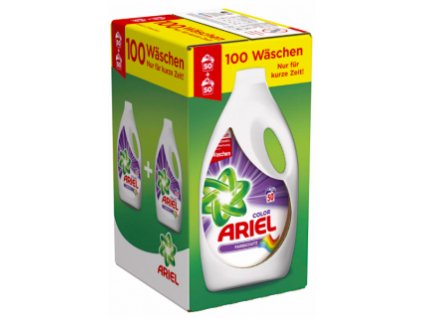 Ariel Actilift Color prací gel 2 x 2,75l, 100 pracích dávek