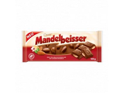 Choceur Mandelknacker mléčná čokoláda s mandlemi 100g