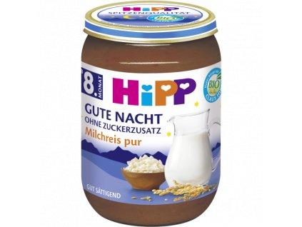HiPP Bio Čistá mléčná rýže na dobrou noc 190g