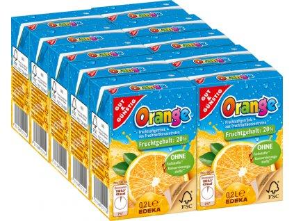 G&G Pomerančový džus pro děti 10 x 200ml  - originál z Německa