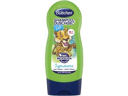Bübchen Džungle šampon a sprchový gel pro děti 230ml  - originál z Německa