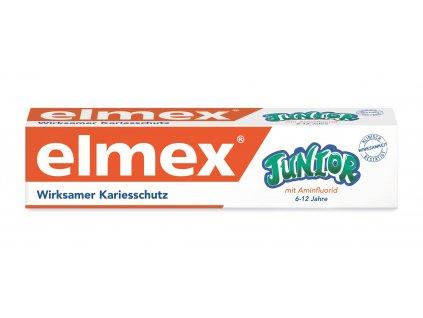 Elmex Junior dětská zubní pasta 6-12 let, 75ml  - originál z Německa