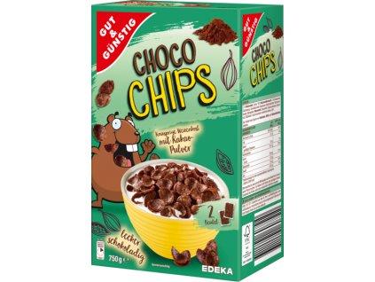 G&G Choco Chips čokoládové lupínky 750g