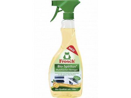 Frosch Spiritus čistič všech hladkých povrchů - pomeranč  500ml  - originál z Německa