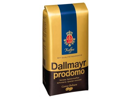 Dallmayr Prodomo (celá zrna, 100% arabica) 500 g