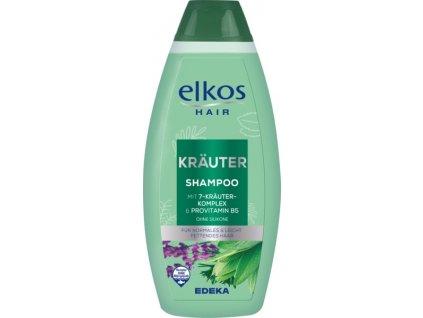 Elkos 7 bylin šampon pro normální a lehce mastící se vlasy 500ml