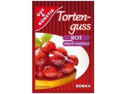G&G Dortové želé - červené 6 ks, 72g  - originál z Německa