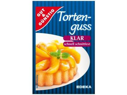 G&G Dortové želé - průhledné 6 ks, 72g  - originál z Německa