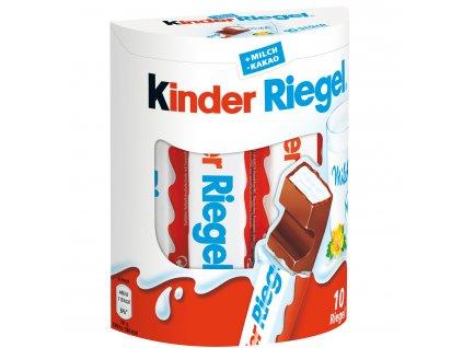 Ferrero Kinder Riegel 10 ks, 210g  - originál z Německa