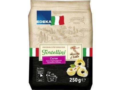 Edeka Tortellini Carne plněné taštičky se šunkou 250g