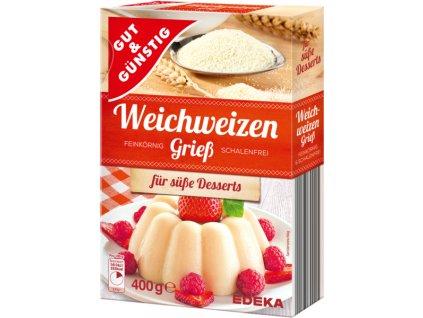 G&G Měkká pšeničná krupice 500g  - originál z Německa