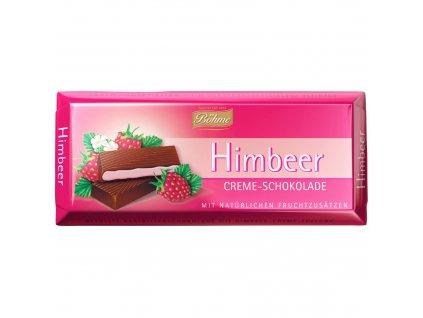Böhme Krémová čokoláda s přírodní malinovou náplní 100g  - originál z Německa