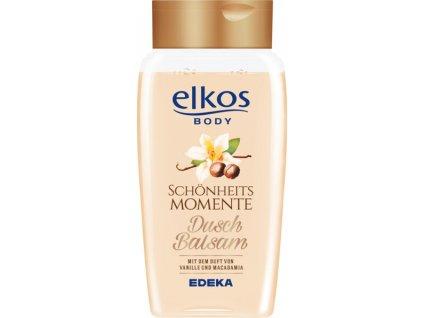 Elkos Vanilka & mMcadamia sprchový balzám 250ml