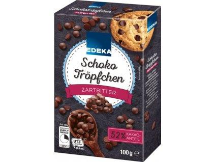 Edeka Čokoládové kapičky 100g  - originál z Německa