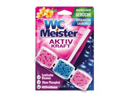 WC Meister závěska do WC exotické květy 45 g