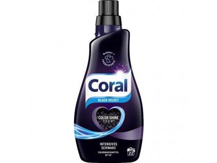 Coral Black Velvet Prací gel na tmavé prádlo 1,4 l, 20 dávek  - originál z Německa