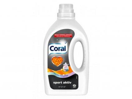 Coral Prací gel na praní sportovního a funkčního oblečení 25 PD, 1,375L