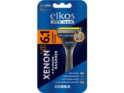 Elkos Men Xenon 6.1 Premium Holicí strojek se šesti břity