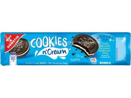 G&G Cookies sušenky s vanilkovou náplní 176g