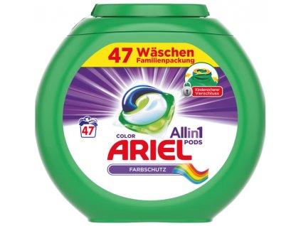 Ariel 3v1 Color gelové kapsle na barevné prádlo 47 ks