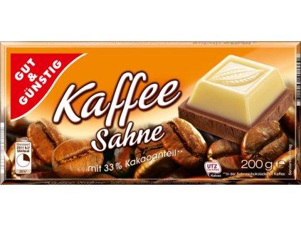 G&G Smetanová čokoláda s kávou, 200g