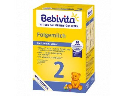 Bebivita Mléko 2 Pokračovací mléčná kojenecká výživa, 500 g