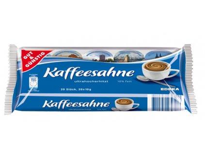 G&G Smetany do kávy 10% tuku, 20 x 10g  - originál z Německa