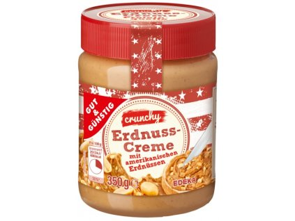 G&G Arašídové máslo – crunchy, s kouskami 350g
