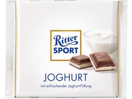 Ritter Sport Joghurt čokoláda 100 g / 10. 2. 2020  - originál z Německa