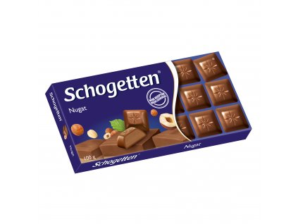 Schogetten Nugát 100g  - originál z Německa
