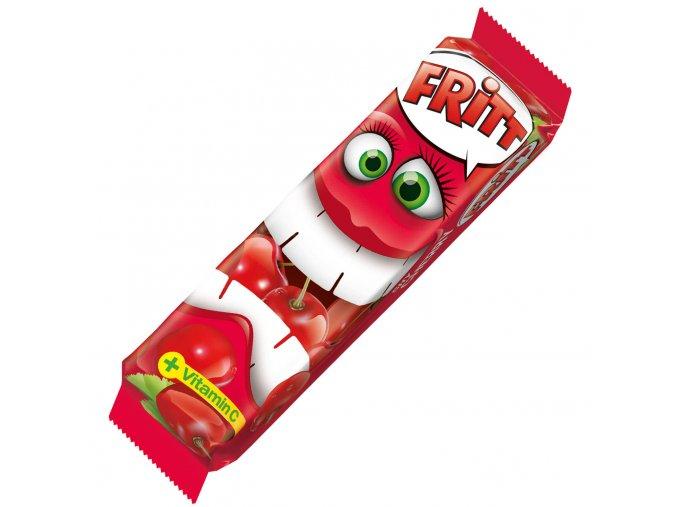 Fritt Žvýkací bonbony TŘEŠEŇ s vitamínem C, 70g