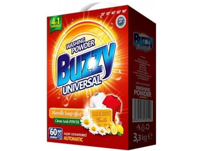 Buzzy Univerzální prací prášek s marseillským mýdlem 60 dávek