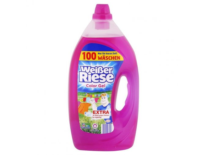 Weisser Riese Intensiv Color prací gel 100 dávek, 5 L