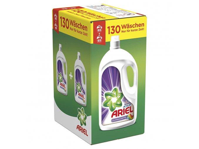 Ariel Actilift Color prací gel 2 x 65 PD, 130 dávek, 7,15l