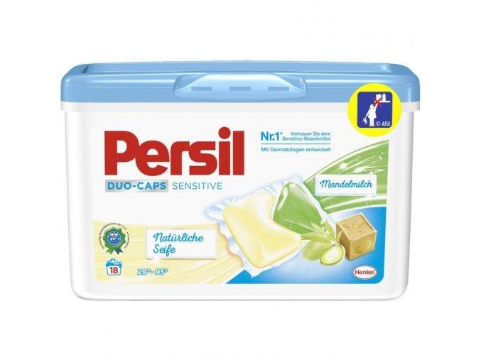 Persil Duo Caps sensitiv prací kapsle s mandlovým mlékem a mýdlem 18PD