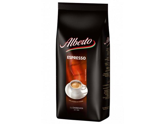 Alberto Espresso zrnková káva 1 kg