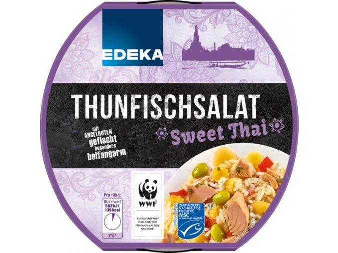 Edeka Tuňákový salát Sweet Thai 210g