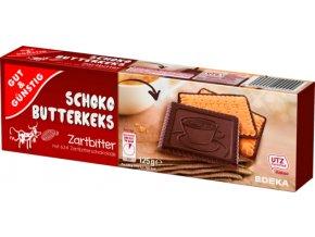 G&G Máslové sušenky máčené v hořké čokoládě 125g
