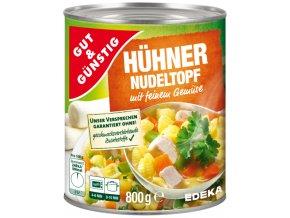 G&G Kuřecí eintopf s nudlemi a zeleninou, 800g