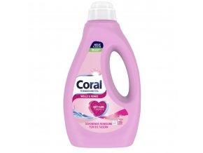 Coral Wolle & Seide prací gel na vlnu a hedvábí 1,4 l 20 praní