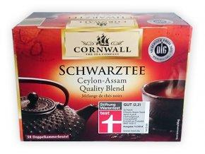Cornwall černý čaj Ceylon-Assam 50 sáčků, 87,5g