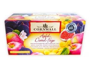 Cornwall aromatický ovocný čaj - jablko, datle, fíky, 55g