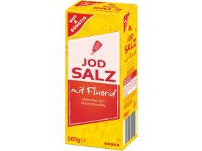 G&G Sůl jemná s jodem a fluoridem 500g